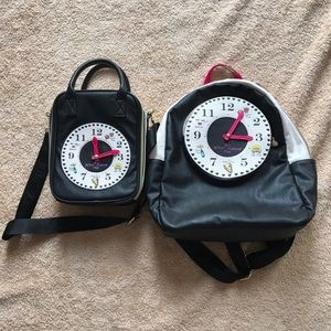 Betsey Johnson Handbags - Betsey Johnson Backpack w matching lunch bag