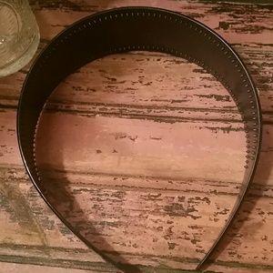 Accessories - Thick black shiny headband