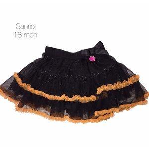 Sanrio Other - Sanrio Hello Kitty Black Orange Tutu 18 mon