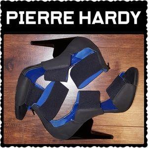 Pierre Hardy Shoes - PIERRE HARDY BLACK SCUBA STRAPPY SANDALS SZ 40