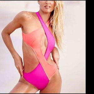 Victoria's Secret Surf Wrap One Piece Bathing Suit
