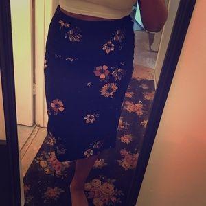 Who What Wear Midi Skirt