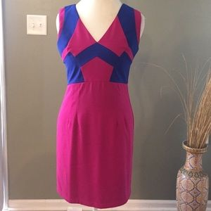 ModCloth Dresses & Skirts - EUC Minuet ModCloth Colorblock Cocktail Dress