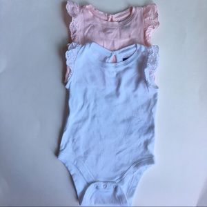 Bundle Bodysuits with Eyelet Sleeves