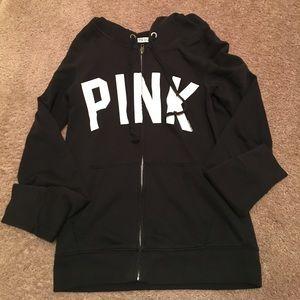 PINK Victoria's Secret Jackets & Blazers - Victoria Secret Pink zip up hoodie
