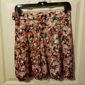 Millau Dresses & Skirts - Millau Lace Floral Multicolor Skirt Size M Medium
