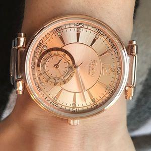 Geneva Platinum Accessories - 1 Left! Rose Gold Watch ⌚️