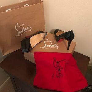 Christian Louboutin Shoes - Christian Louboutin Bianca 120 Patent Calf 37.5