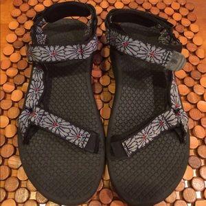 Teva Shoes - Teva Sandals - size 8 floral pattern