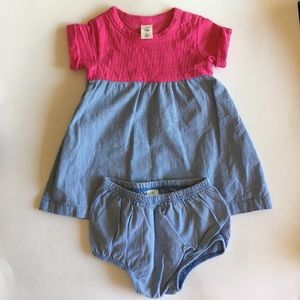 Tucker + Tate Dress with matching Bloomers