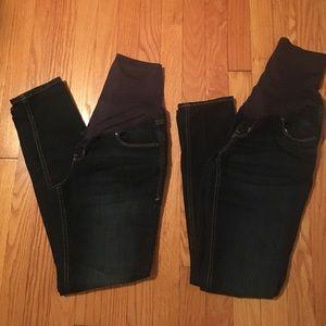 Old Navy Denim - BUNDLE- Maternity Jeans