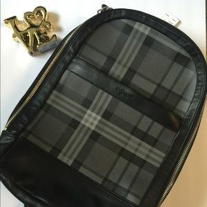 Coach Other - 💥🔥**NWT!!** COACH Mens Backpack in Black plaid💥