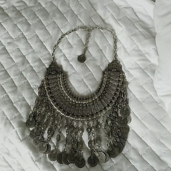 Free People Jewelry - Free people coin drop necklace