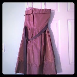 NWOT Vera Wang Rich lavender gown
