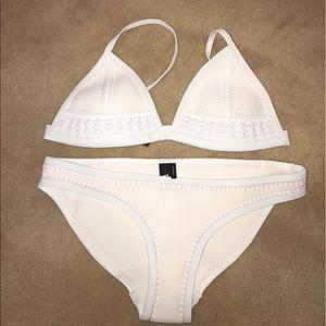 "Triangle Other - Triangle white ""Gigi-californian coconut"" bikini"