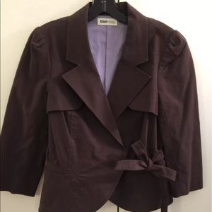 TSE Jackets & Blazers - NEW TSE tsesay dark brown jacket blazer office 8 m