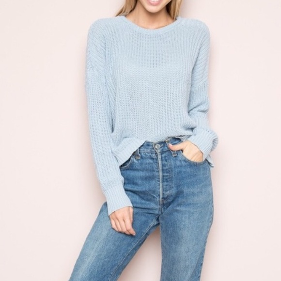 64% off Brandy Melville Sweaters - Brandy Melville Bronx Baby ...
