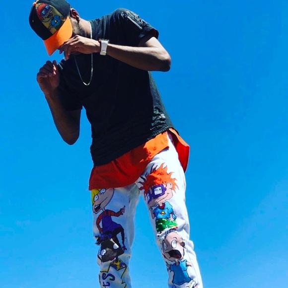 9dcbab14ef971 Customized RugRats pants