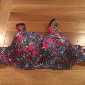 Cacique Other - Cacique paisley print 42B bra
