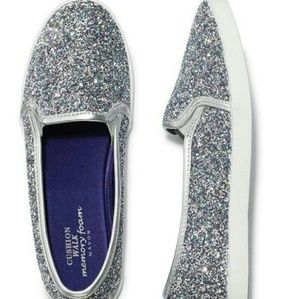 Avon Memory Foam Sparkle SLIP ON sneaker