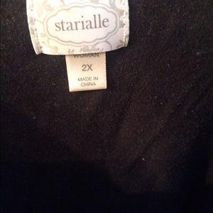 b92df3cc0f starialle Intimates   Sleepwear - 2 piece black   white polka dot pajama ...