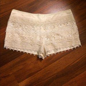 Sans Souci Pants - NWT Sans Souci Lace shorts
