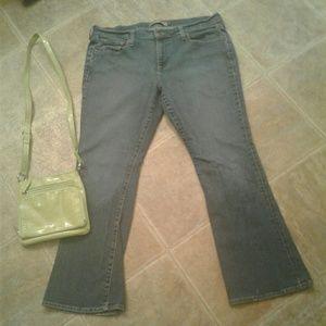 Old Navy Denim - Just Below Waist Stretch Bootcut jeans