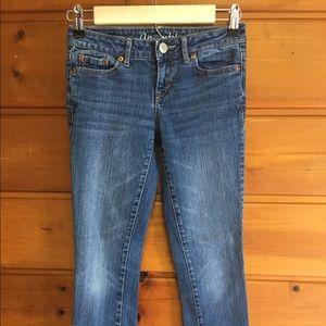 Aeropostale Denim - Aeropostale Bayla Skinny Jeans Medium Wash SHORT