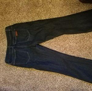 Joe's jeans Denim - Curvy bootcut dark wash jeans