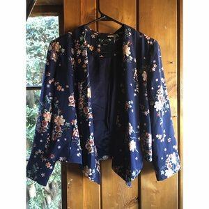 Forever 21 Jackets & Blazers - Floral kimono blazer