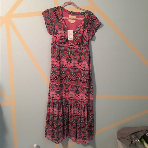 70 off anthropologie dresses skirts nwt anthropologie for Anthropologie mural maxi dress