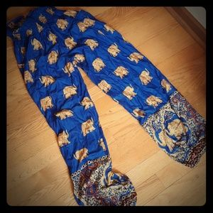 Elephant Pants  Pants - EUC Elephant Pants - gorgeous colors! Has pockets!