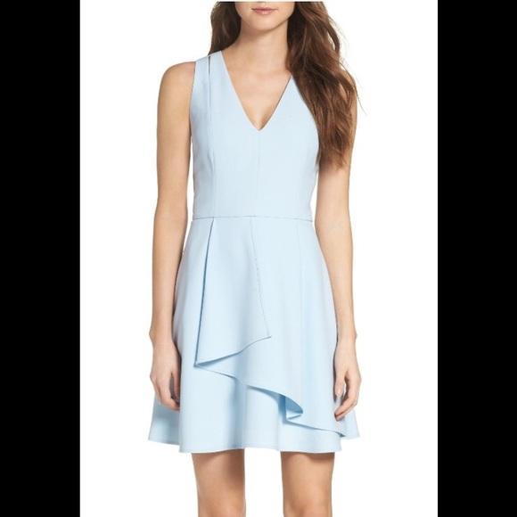 5aadbfd2 Adelyn Rae Dresses & Skirts - Adelyn Rae Asymmetrical Crepe Fit & Flare ...