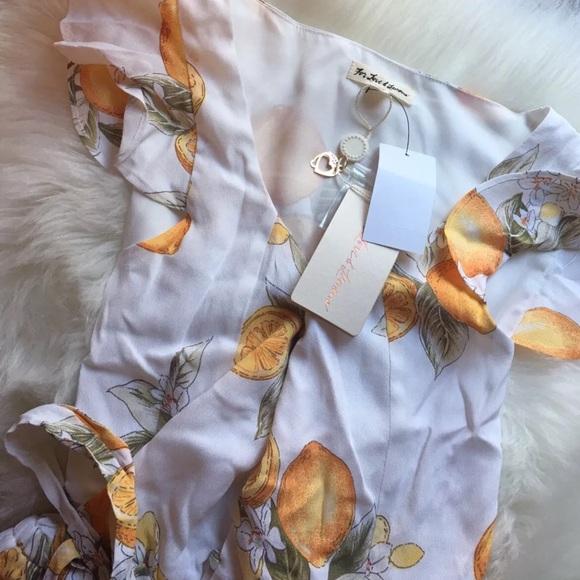 7e6218a03143 For Love and Lemons Pants   Limonada Onesie   Poshmark