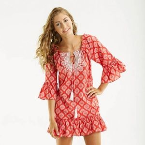 Mud Pie Other - NWT Mudpie Ruffle Coverup