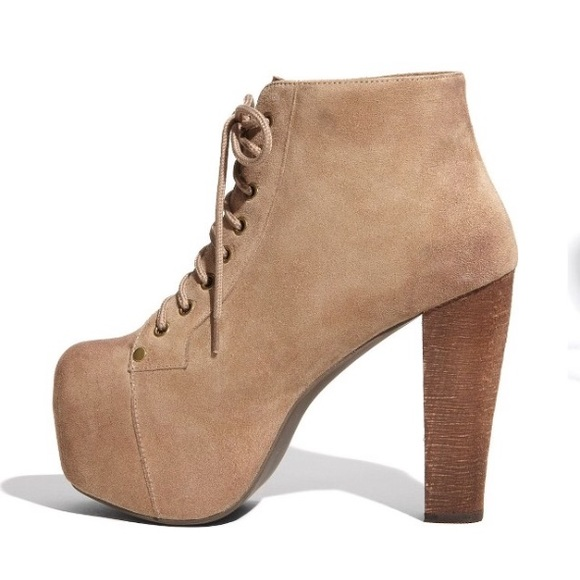 26 off jeffrey campbell shoes jeffrey campbell 39 lita 39 suede taupe bootie sz 9 from g 39 s. Black Bedroom Furniture Sets. Home Design Ideas