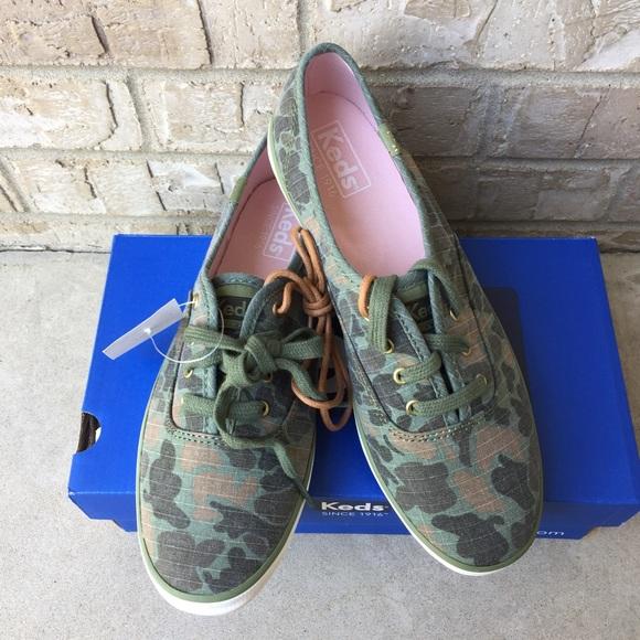 Keds Shoes | Camo Ripstop Slip On