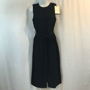 WHOWHATWEAR Dresses & Skirts - Black Dress with Belt Sz Small New with Tags