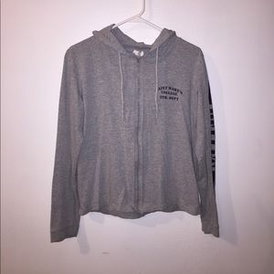 Zip up St. Mary's College hoodie