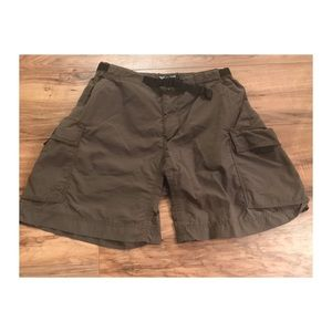 REI Pants - REI women's army green hiking shorts 8