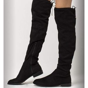 Yoki knee high boots