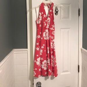 Ocean Drive Dresses & Skirts - Pink floral beach dress
