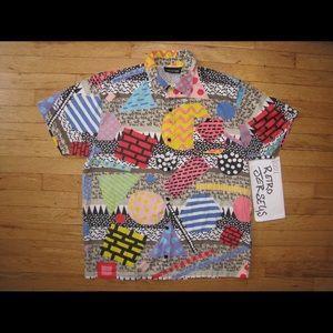 Lazy Oaf Other - Lazy Oaf Vintage retro 90s button up shirt