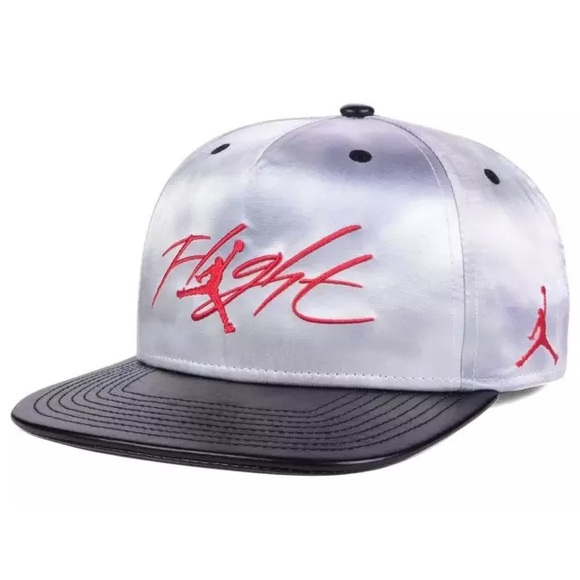 Nike Jordan Flight Cloud Silver Snapback Hat 1cc13868173
