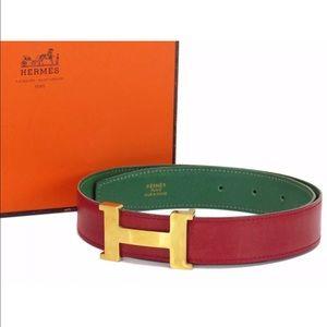 Hermes Accessories - Authentic Hermes H buckle Belt