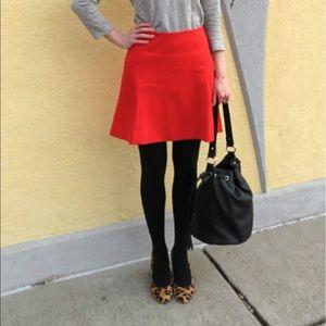 Loft Ponte Flippy Skirt