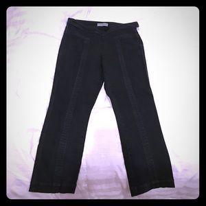 Geren Ford Pants - Geren Ford Black Denim Crops