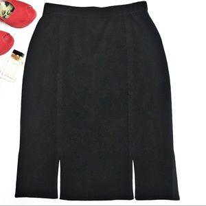St. John Vented Knit Skirt