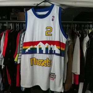 Mitchell & Ness Other - Alex English nuggets jersey