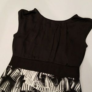 AGB Dresses & Skirts - Beautiful black and white dress size 12
